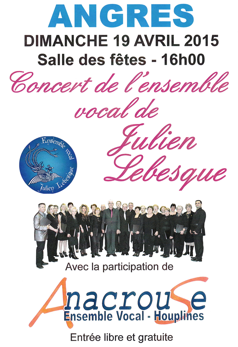 Concert Anacrouse Angres